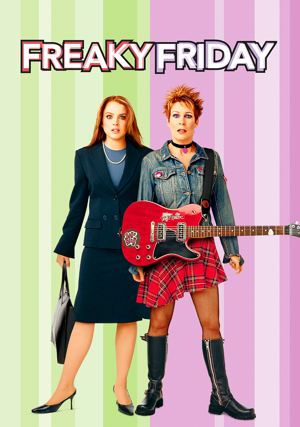 Freaky friday. Filmcover. Foto.